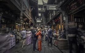 冯文影像视觉婚礼摄影-总监摄影师双机档