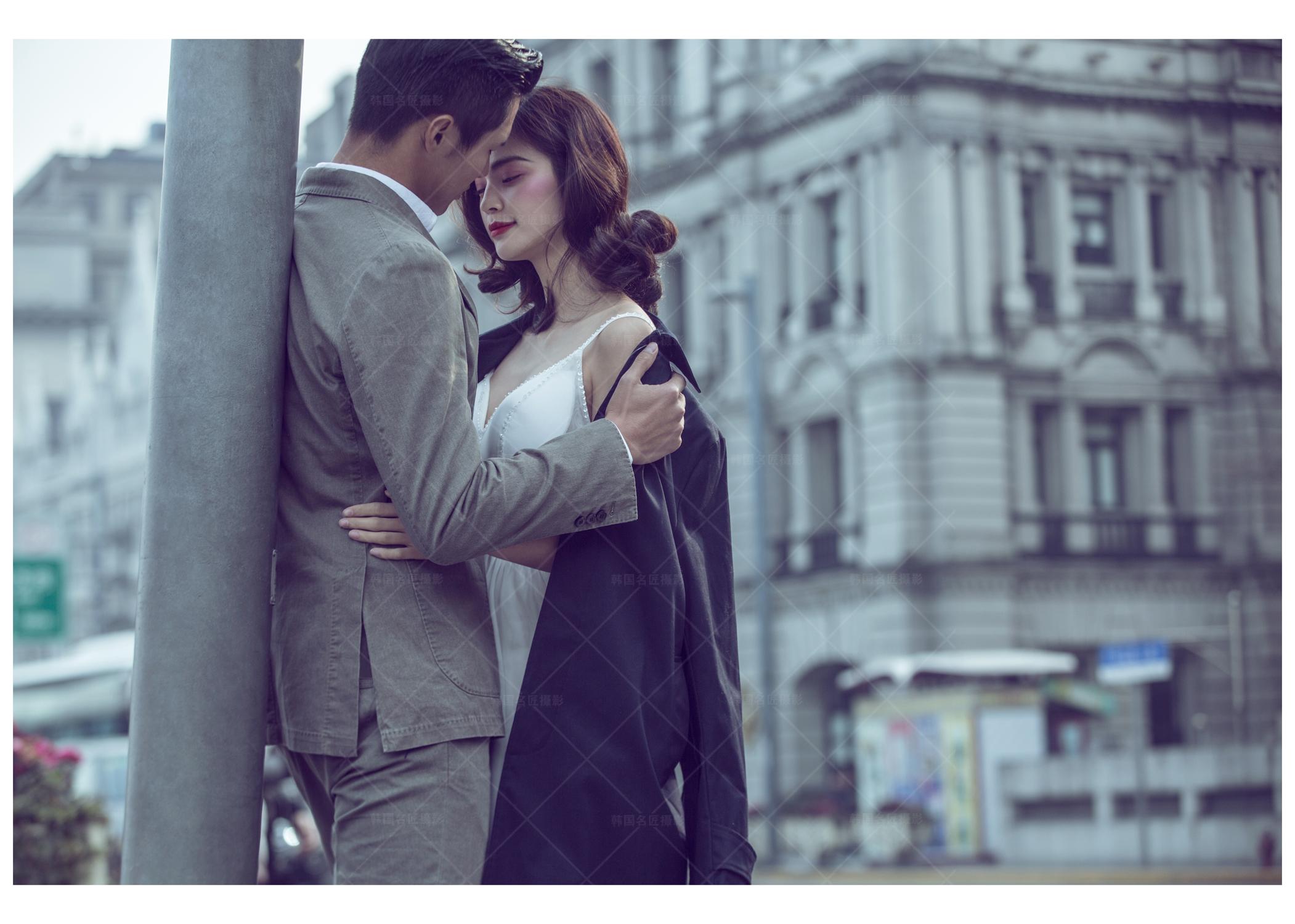 欧式文艺旅行风街景街拍婚纱摄影作品