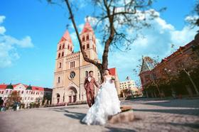 天主教堂婚纱摄影