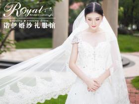 洛丽塔皇室系列—低调的奢华婚纱
