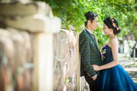 恩爱的郑先生夫妇纪念婚纱照——遇见你