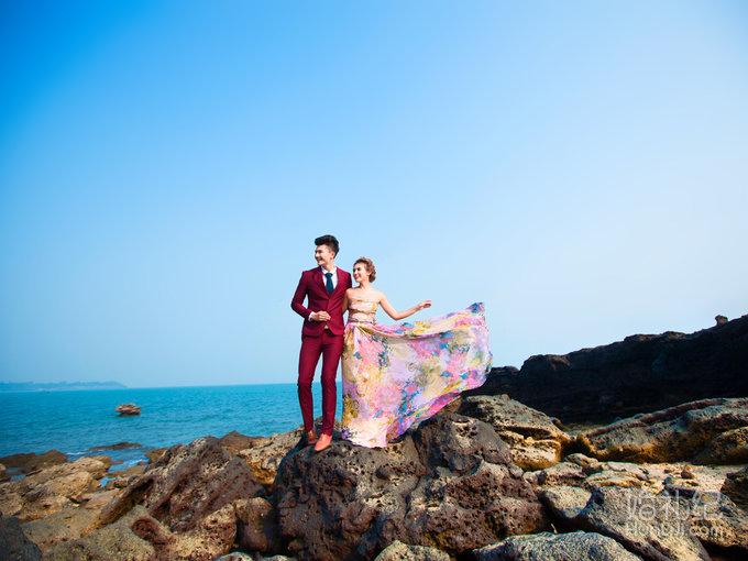 纯色系-海边礁石《青岛旅拍》