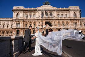 罗马假日 欧式婚纱照