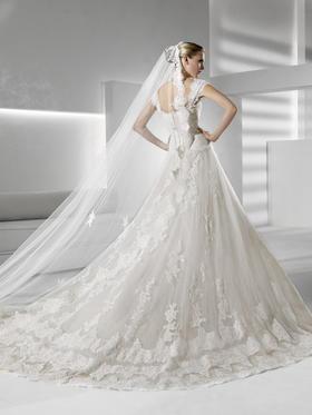 台湾翯婚纱礼服设计工作室之欧式公主风