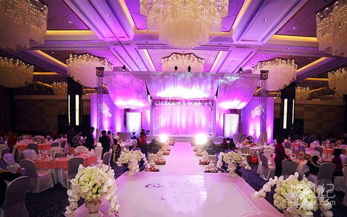 粉色系婚礼-时尚公主风格
