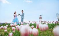蓝朵摄影--唯美室外婚纱照客片