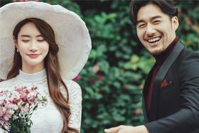 爱慕之韩式小清新婚纱照
