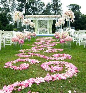森系户外婚礼——宁静