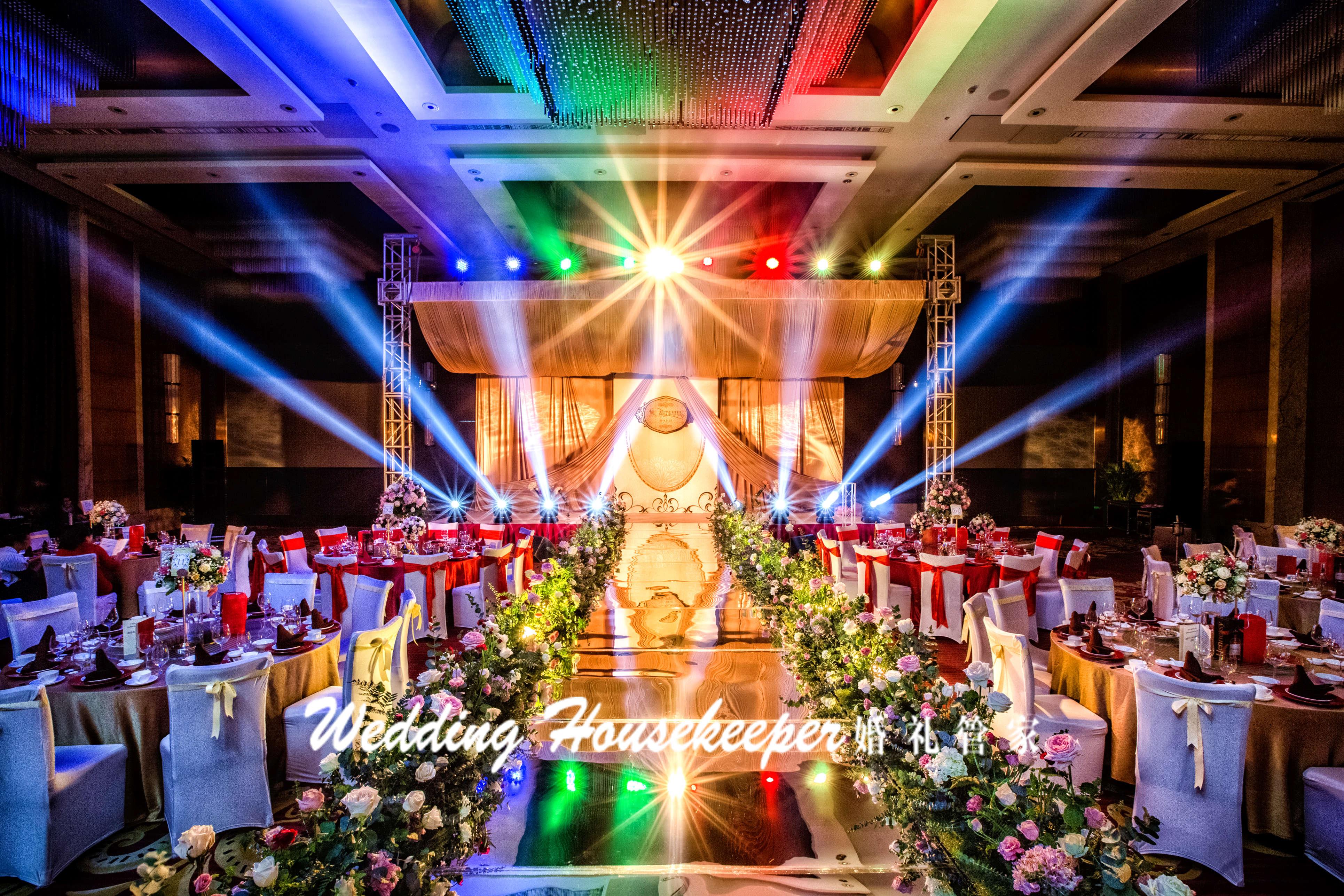 欧式婚礼布置
