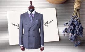 【优客定制】高博乐条纹两件套