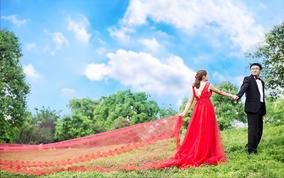 夏季清新唯美婚纱照系列