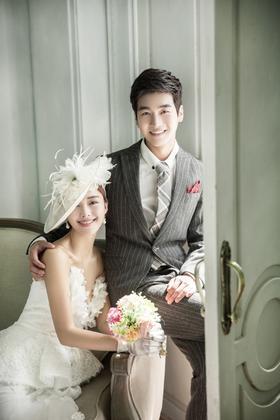 韩吉尔婚纱摄影  韩式情侣结婚照