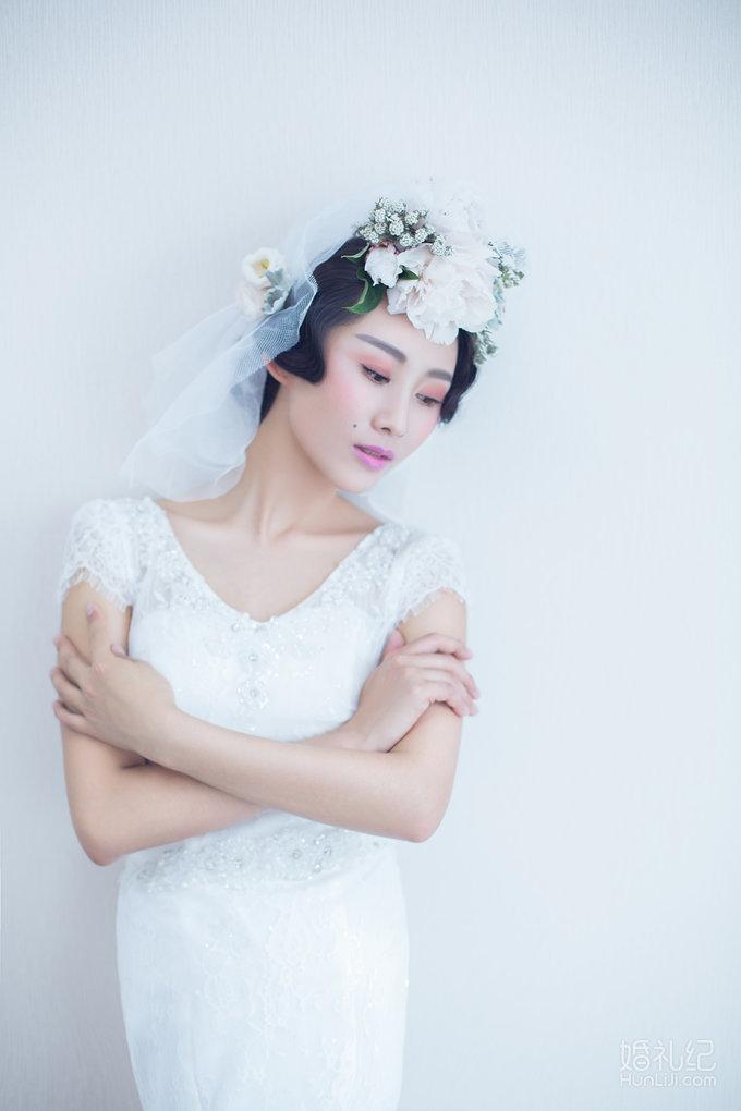 深圳moment复古欧美典雅妆面展示