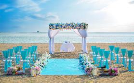 三亚特色沙滩婚礼