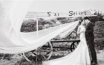 创意文艺婚纱客片:最美的时间,最美的你