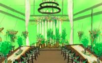 罗兰湖餐厅《飞鸟与鱼》美式乡村风婚礼