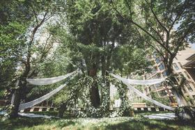 梵盛婚礼|小区户外草坪婚礼|绿色大清新|纪念