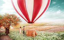 梦幻之旅——小清新婚纱照