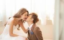 韩式内景婚纱摄影——你给的幸福