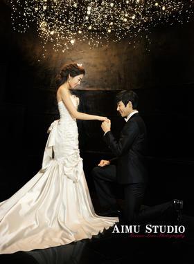 星空夜景婚纱照