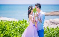 三亚米娅婚纱摄影《游艇韩式文艺婚纱主题拍摄》