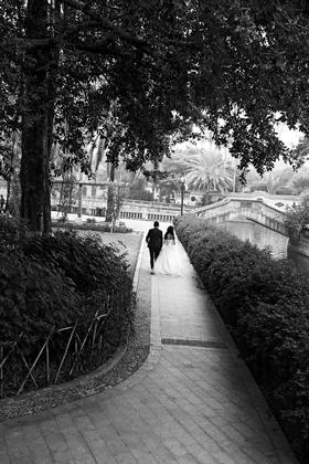 中山公园-【富都婚纱摄影】