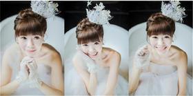 【台湾布蕾丝婚纱】青春靓丽