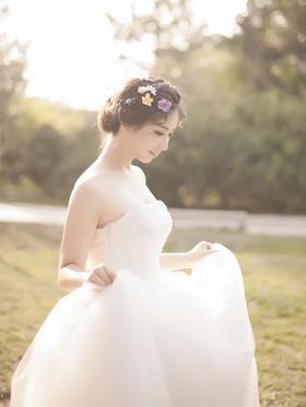 唯美风婚纱
