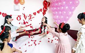 浪漫婚礼套系
