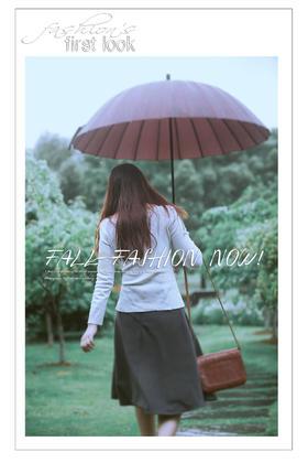 【乐玛映像摄影-雨中漫步】