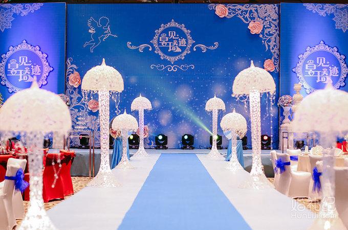 蓝色婚礼,婚礼策划作品