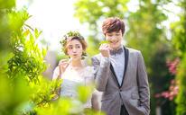 春色盎然清新系列婚纱照