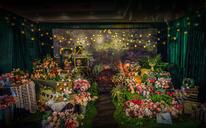 【幸福蜜语婚礼馆】爱丽丝主题森系风花园风婚礼