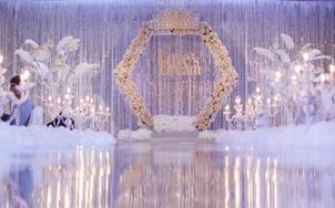 【红人婚礼会馆】浅浅的紫色婚礼