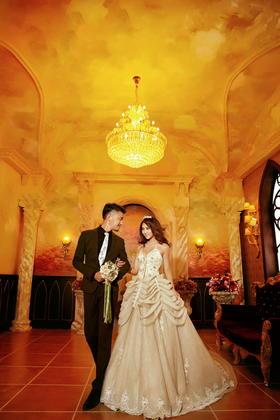 维多利亚复古婚纱照
