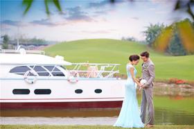 游艇摄影作品