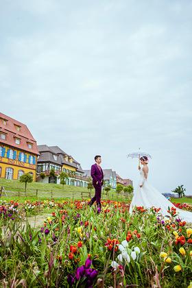 【1850婚纱摄影】韩式森系婚纱摄影