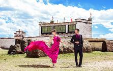 西藏羊卓雍措旅游婚纱摄影