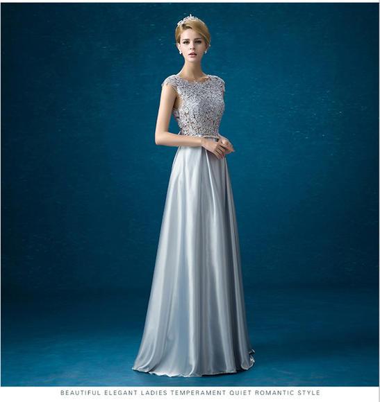 高端新款新娘结婚礼服演出宴会晚礼服