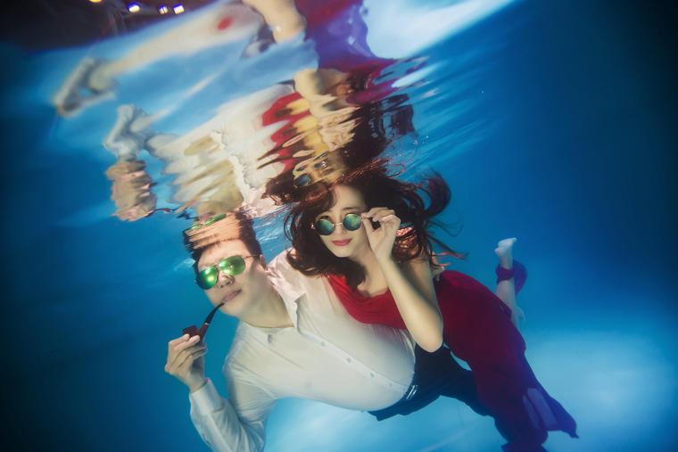 维罗纳婚纱摄影【客片欣赏】丨水下婚礼