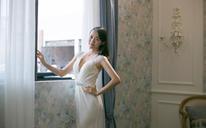 NSN BRIDAL法式软蕾丝鱼尾婚纱