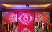 欧式红金婚礼--【建国饭店】 圣希雅案例