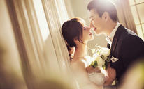 清新内景主题婚纱——微光