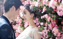 首尔·首尔摄影 花墙系列婚纱照