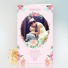 【60张起订】照片喜帖定制欧式中式婚礼请柬