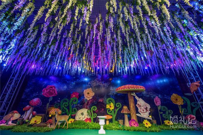 《爱丽丝梦游仙境》森林主题婚礼