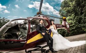 【慕意婚纱摄影】2017《直升机游艇》主题