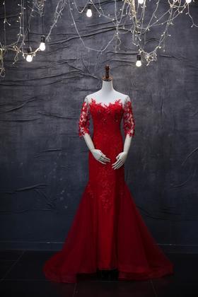 品位婚纱——中式礼服