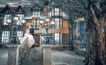 LANCOME--欧式雪景婚纱照