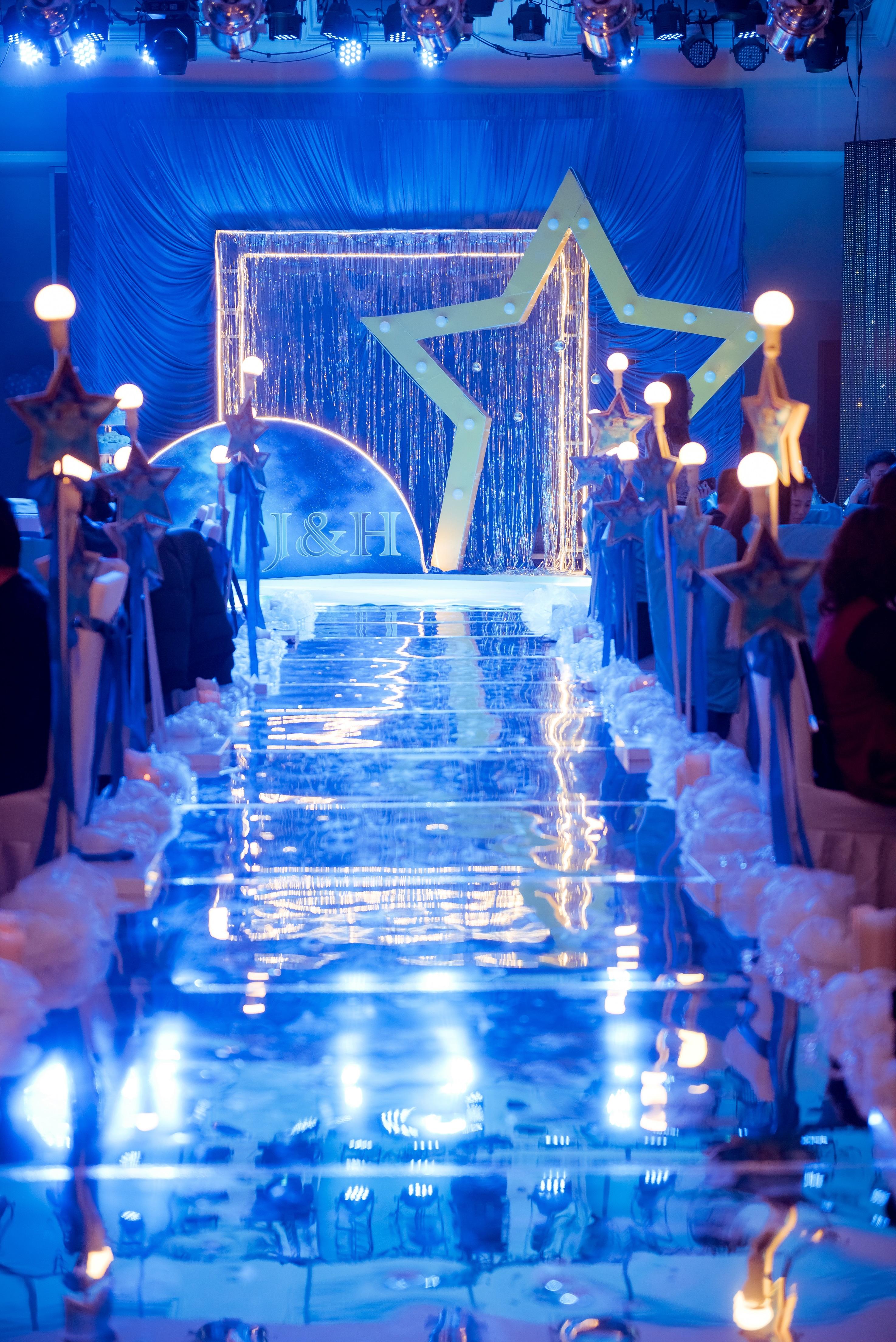 星空婚礼布置